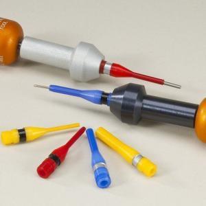 Извлекатели незамонтированных кабелем контактов