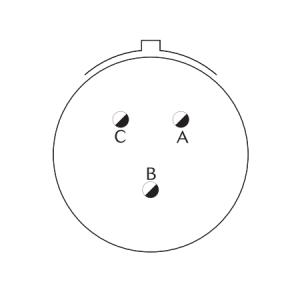 D38999/20FA98PA Соединитель Приборный